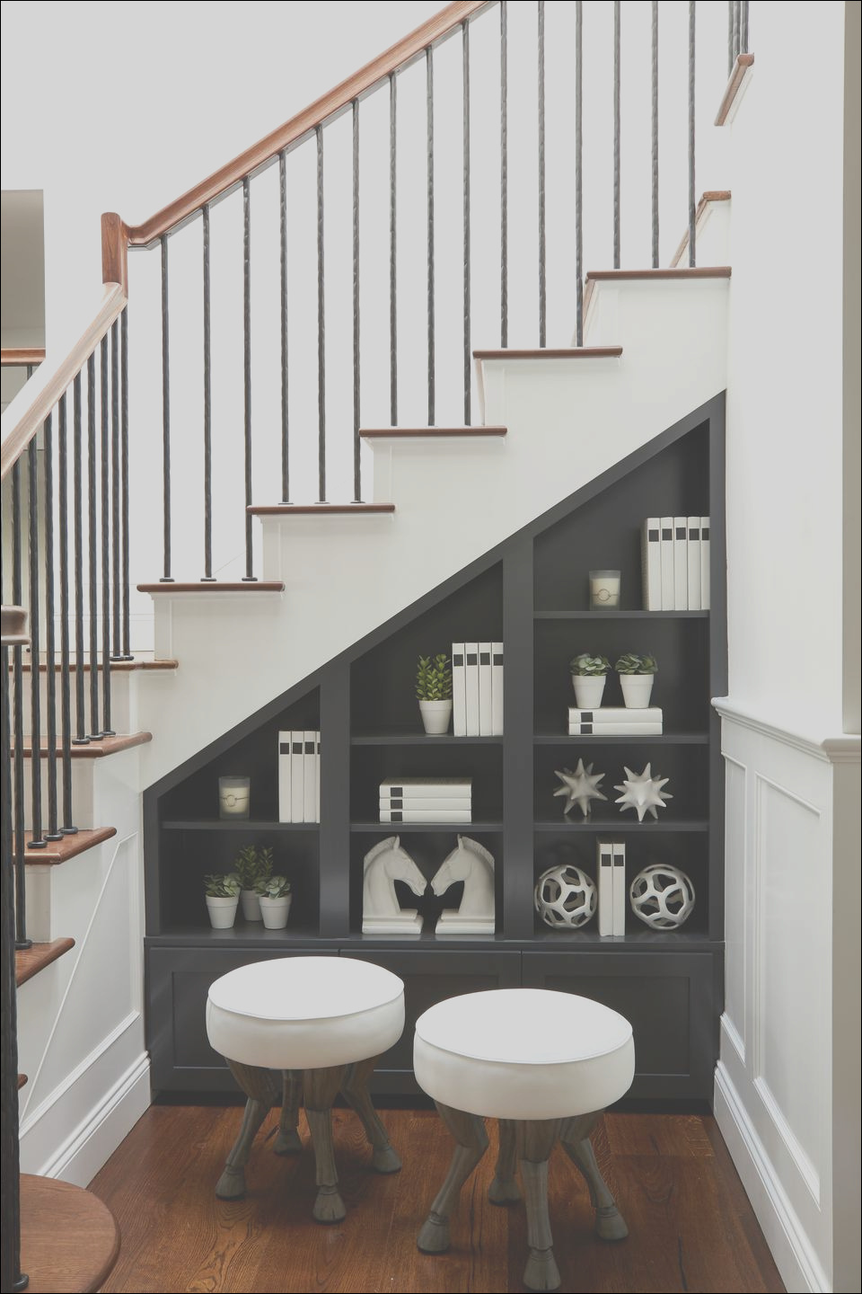 space under the stairs ideas