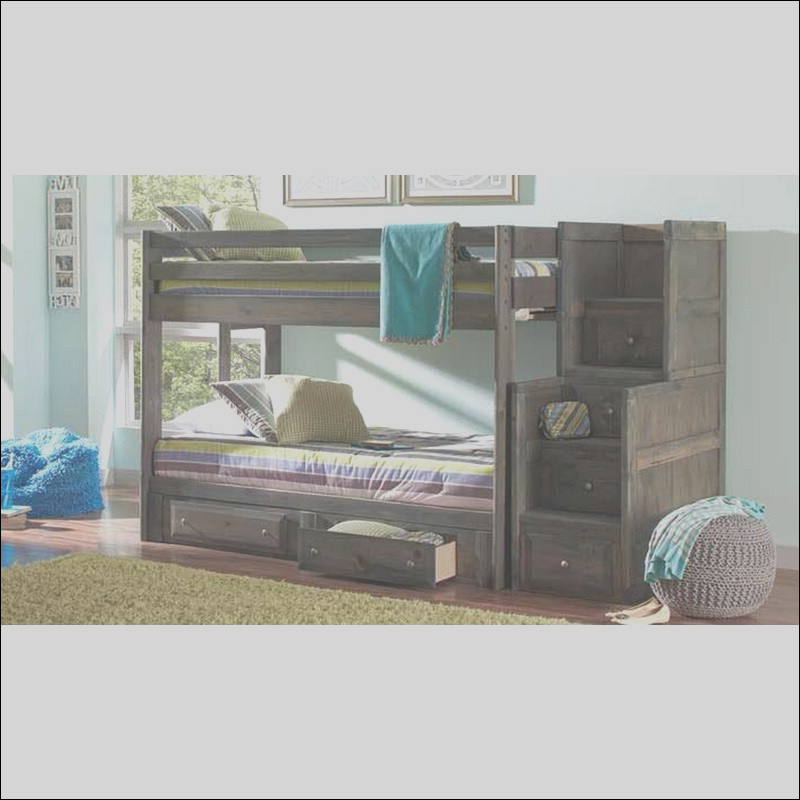 harriet bee setser twin over twin bunk bed with stairway chest and under bed storage w