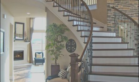 Wall Design Near Stairs Inspirational Love the Brick Wall & Curved Stair