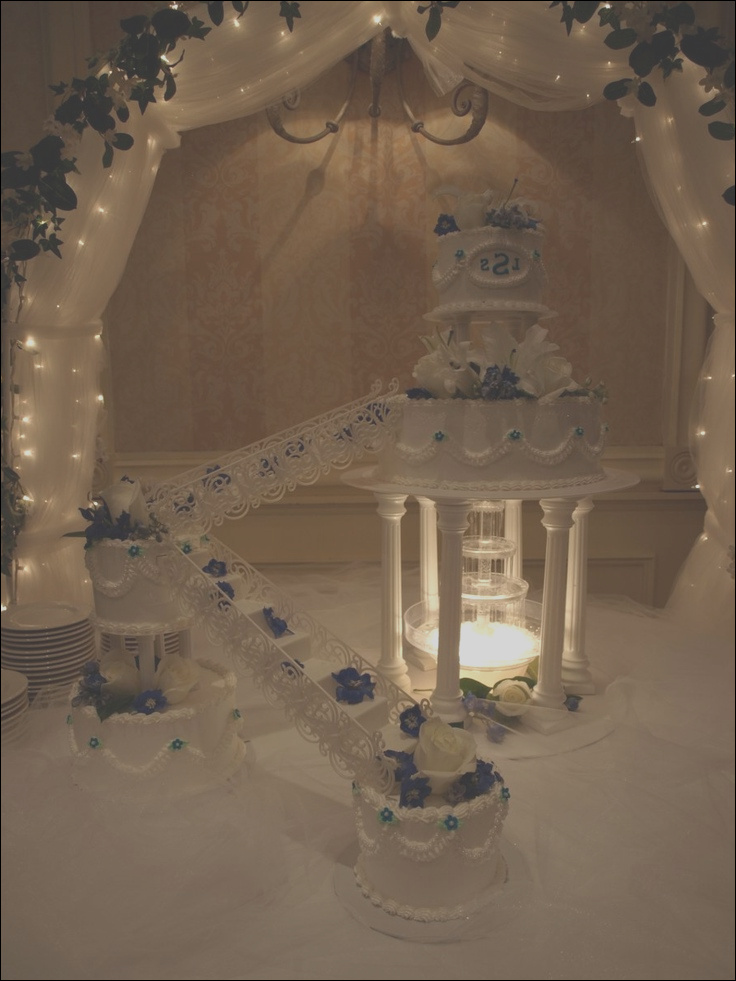 cakes with stairs
