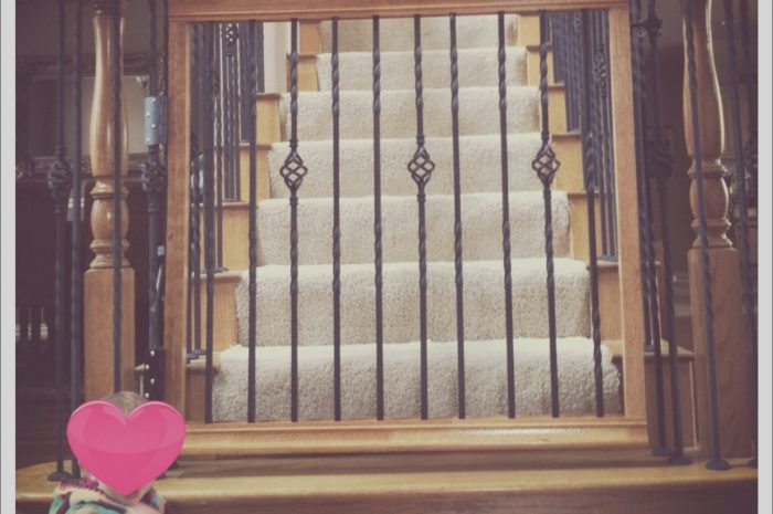 10 Liveable Wooden Baby Gate for Stairs Photography