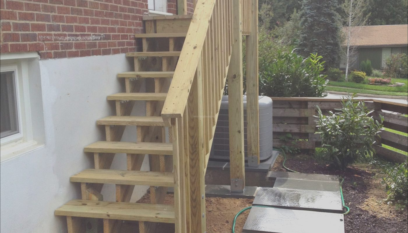 Wooden Deck Stairs Awesome Diy Deck Stairs