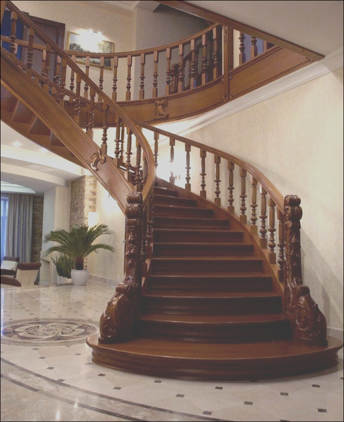 a staircase that match your home interior style