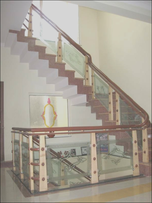wooden glass railingwood stairs glass staircase id