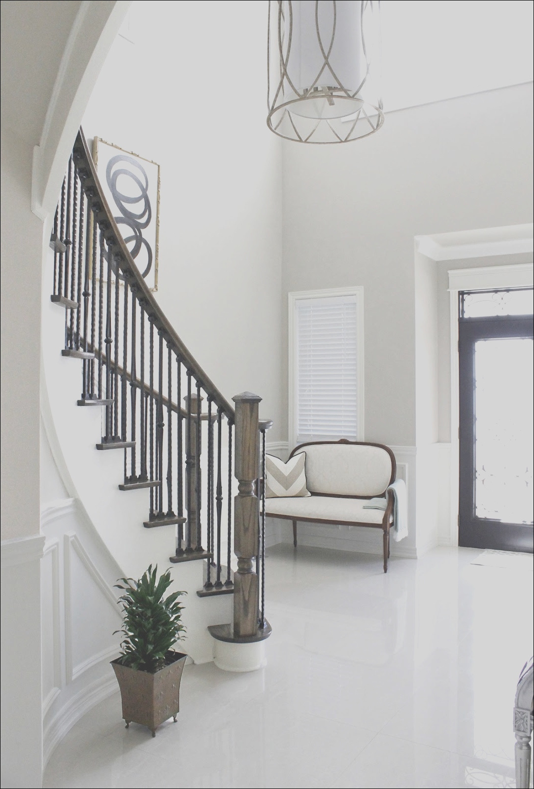 painted staircase reveal