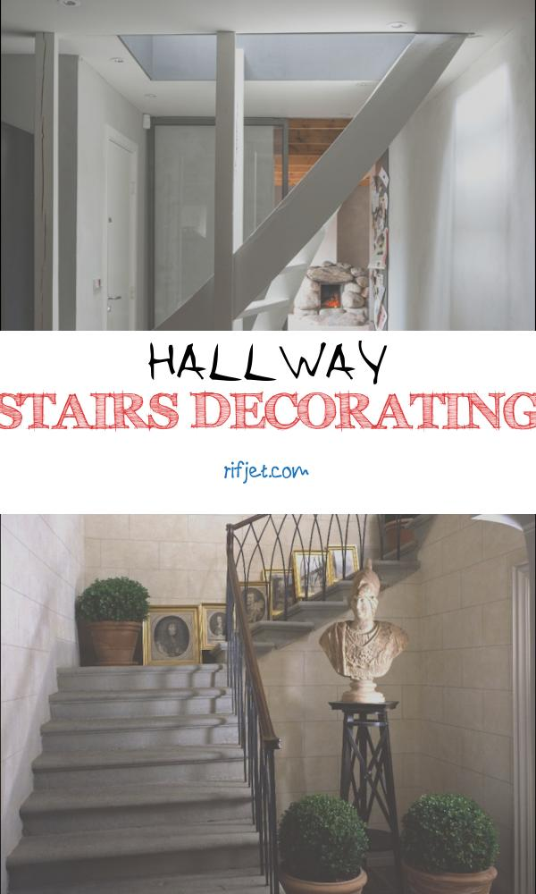 Hallway Stairs Decorating Awesome White Hallway with Curved Staircase