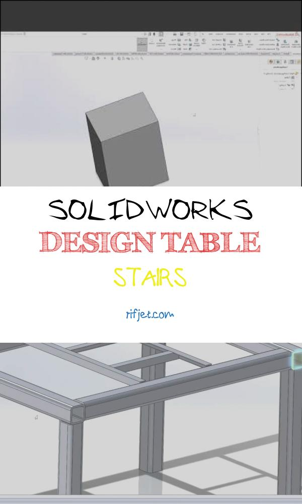 10 Delightful solidworks Design Table Stairs Images