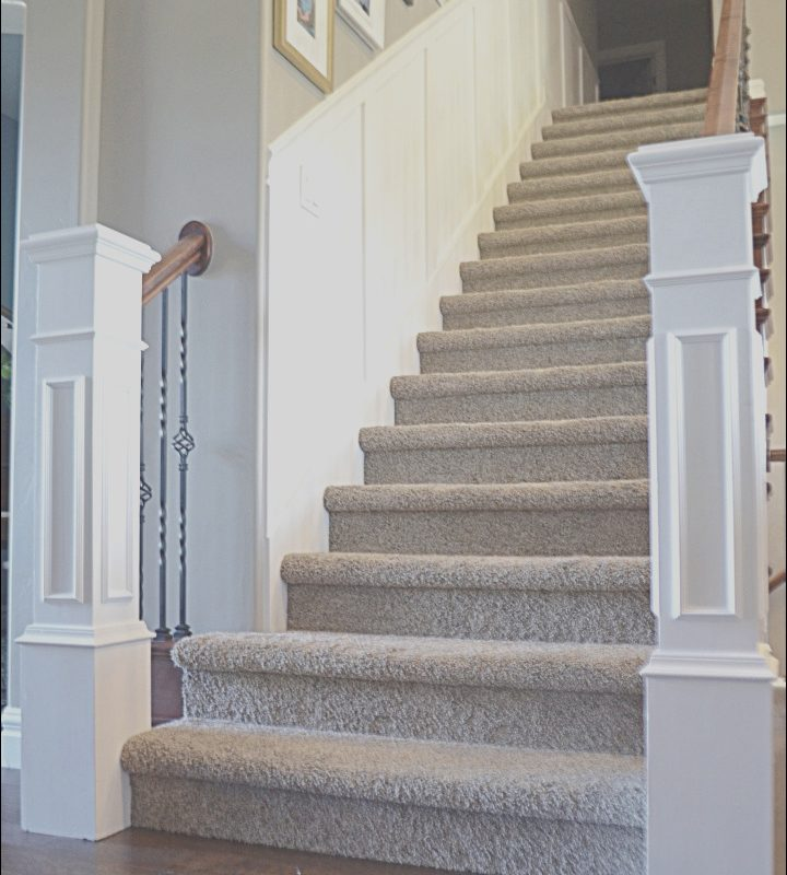 Stairs Molding Ideas Awesome Staircase Makeover How to Install Molding Remington Avenue