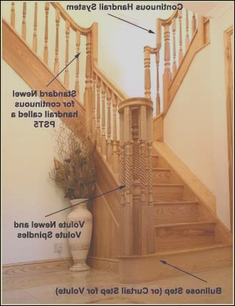 stair handrails banisters handrail stairs pear stairs